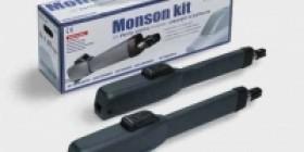 Kit automatizare Genius Monson pentru porti batante